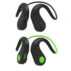 Bone Conduction Headphones Wireless Bluetooth Stereo Headset Over Ear Sweatproof Earphone with Microphone for Sports