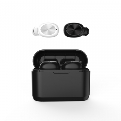 TWS Earphone Wireless Headphone with 600mAh Charging Case Stereo TWS Earphone Headset with Mic
