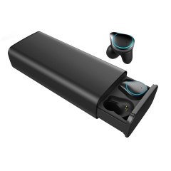 TWS True Wireless Earbuds Stereo Bluetooth Earphones Mini TWS Waterproof Headfrees with Charging Box 7000mAh Power Bank